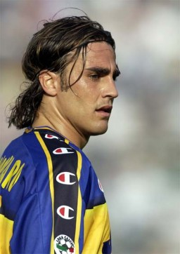 10 OCTOBER 2001 PARMA AT THE STADIUM TARDINI BETWEEN PARMA VS PIACENZA CANNAVARO PHOTO CLAUDIO VILLA/GRAZIA NERI